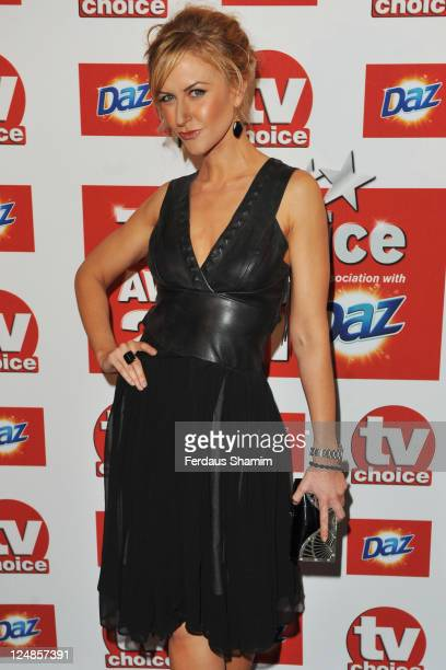 Katherine Kelly attends the The TVChoice Awards 2011 at The Savoy Hotel on September 13 2011 in London England