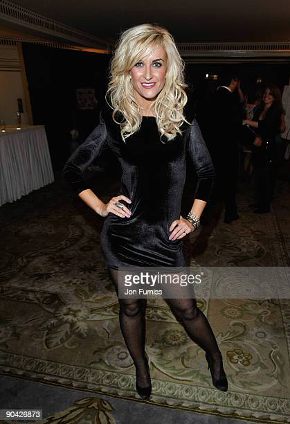 Katherine Kelly attends the TV Quick TV Choice Awards at The Dorchester on September 7 2009 in London England