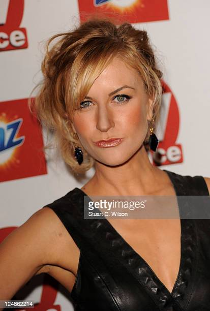 Katherine Kelly attends the TVChoice Awards at The Savoy Hotel on September 13 2011 in London England