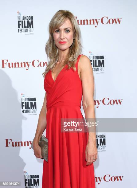 Katherine Kelly attends the World Premiere of Funny Cow during the 61st BFI London Film Festival at the Vue West End on October 9 2017 in London...