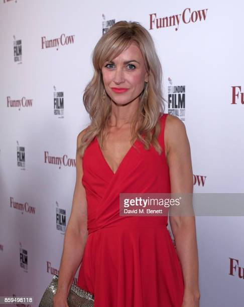 Katherine Kelly attends the World Premiere of Funny Cow during the 61st BFI London Film Festival on October 9 2017 in London England