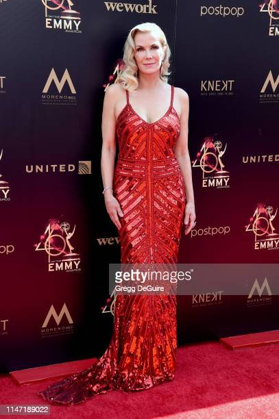 Katherine Kelly Lang attends the 46th annual Daytime Emmy Awards at Pasadena Civic Center on May 05 2019 in Pasadena California
