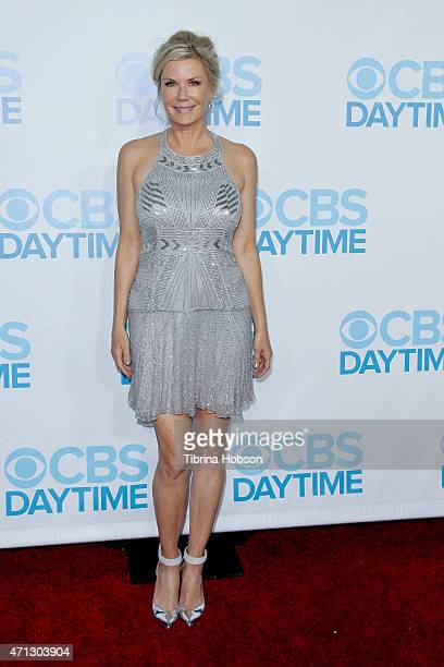 Katherine Kelly Lang attends the CBS Daytime Emmy after party at Hollywood Athletic Club on April 26 2015 in Hollywood California