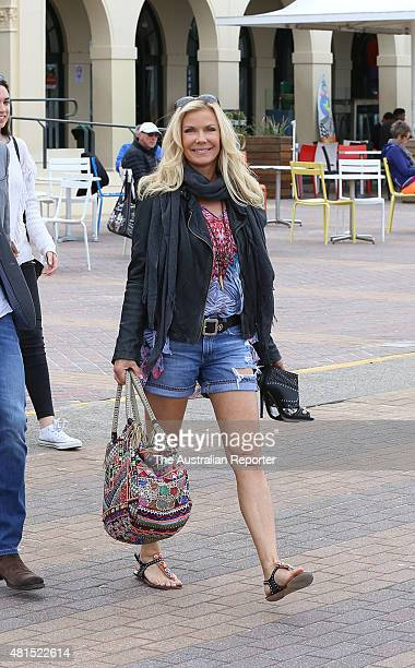 Katherine Kelly Lang is seen at Bondi Beach on July 22 2015 in Sydney Australia
