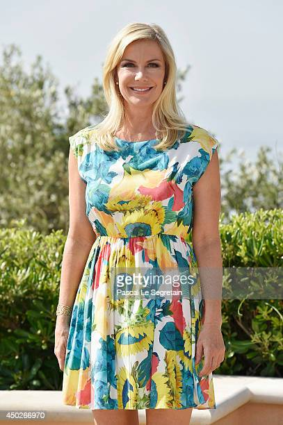 Katherine Kelly Lang pose during a photocall for the TV Show ' The Bold and the Beautiful' as part of the 54th MonteCarlo Television Festival on June...