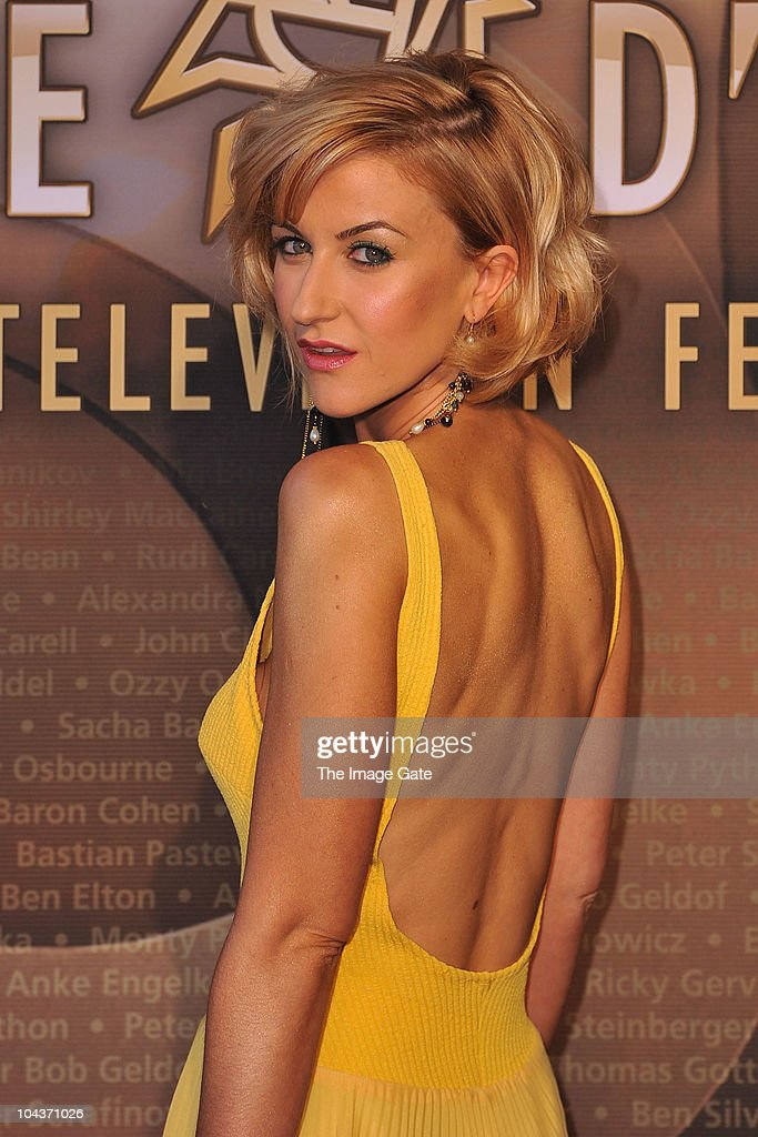 Katherine Kelly of Coronation Street arrives at the 50th Rose d'Or Television Festival Award Ceremony on September 22, 2010 in Lucerne, Switzerland.