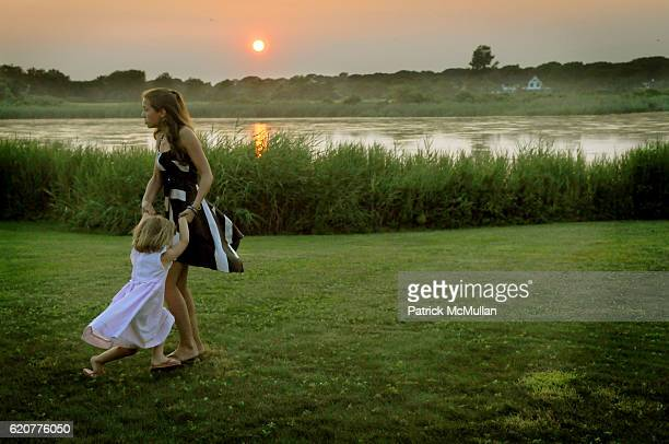 Katherine Kennedy Bailey and Mariah Kennedy Cuomo attend SUMMER SOIREE CELEBRATING THE 40TH ANNIVERSARY OF THE ROBERT F KENNEDY MEMORIAL at A Private...