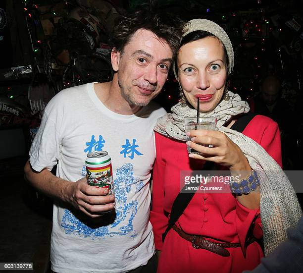 Katherine Kissa and Kamiel attend Locarno's Late Drink At TIFF at Bovine on September 11 2016 in Toronto Canada