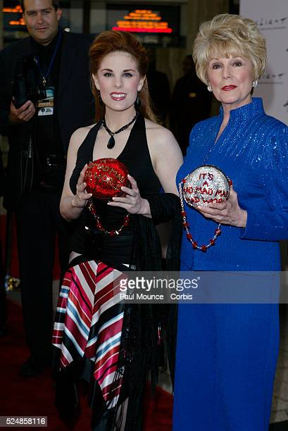 Katherine Kramer and Karen Kramer the daughter and wife of director Stanley Kramer arrive at the 40th anniversary celebration for the Arclight...
