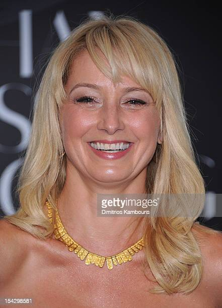 Katherine LaNasa attends Connecting The Dots Book Launch Exhibition Opening at Donna Karan's Urban Zen Center at the Stephen Weiss Studio on October...
