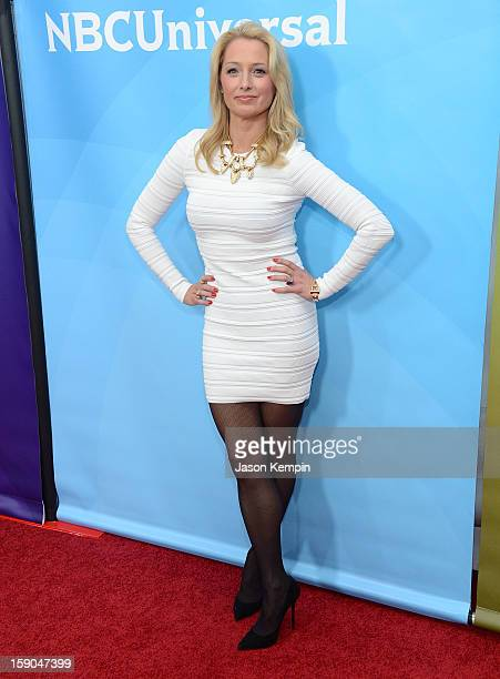 Katherine LaNasa attends NBCUniversal's 2013 Winter TCA Tour Day 1 at Langham Hotel on January 6 2013 in Pasadena California