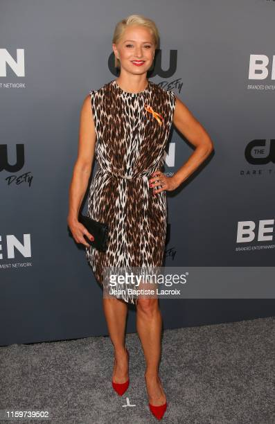 Katherine LaNasa attends The CW's Summer 2019 TCA Party sponsored by Branded Entertainment Network at The Beverly Hilton Hotel on August 04 2019 in...