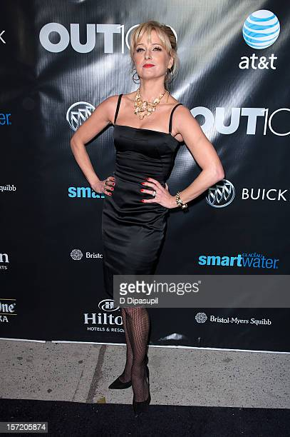 Katherine LaNasa attends the OUT100 2012 Most Compelling People Of The Year awards at Milk Gallery on November 29 2012 in New York City