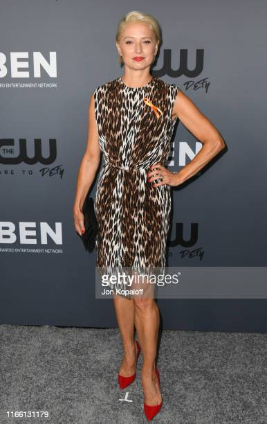 Katherine LaNasa attends the The CW's Summer 2019 TCA Party sponsored by Branded Entertainment Network at The Beverly Hilton Hotel on August 04 2019...