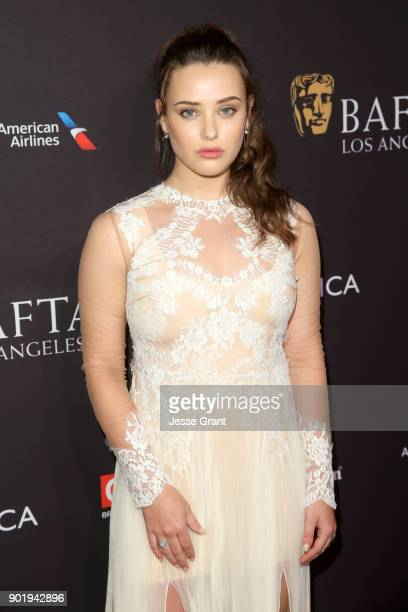 Katherine Langford attends The BAFTA Los Angeles Tea Party at Four Seasons Hotel Los Angeles at Beverly Hills on January 6 2018 in Los Angeles...