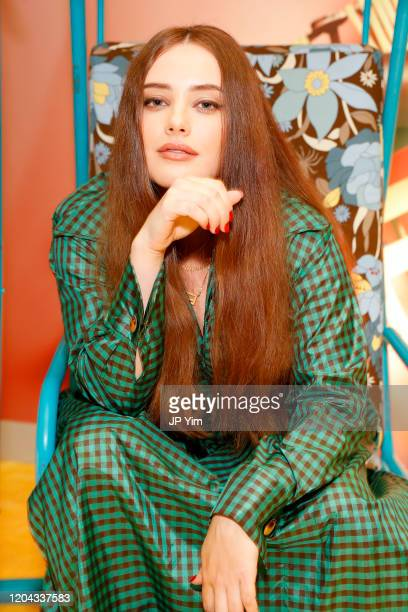 Katherine Langford attends The Launch of Solar Dream hosted by Fendi on February 05, 2020 in New York City.