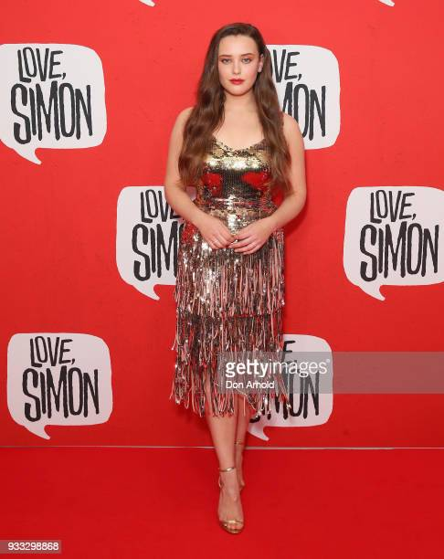 Katherine Langford attends the Love Simon Australian Premiere on March 18 2018 in Sydney Australia