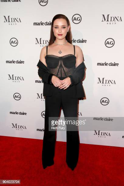 Katherine Langford attends the Marie Claire's Image Makers Awards 2018 on January 11 2018 in West Hollywood California