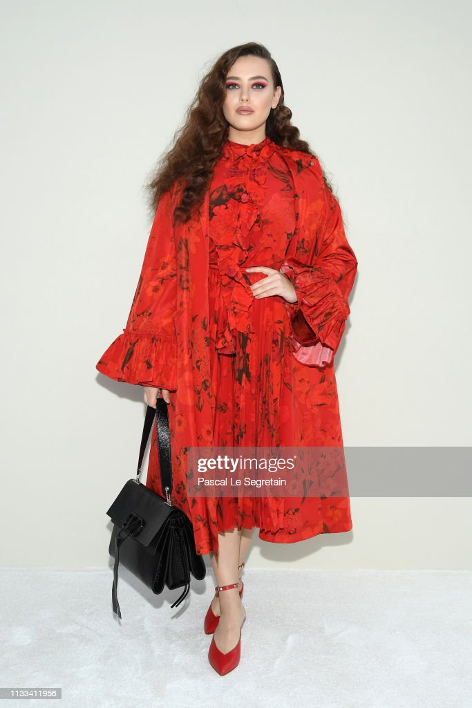 Valentino : Front Row - Paris Fashion Week Womenswear Fall/Winter 2019/2020 : News Photo