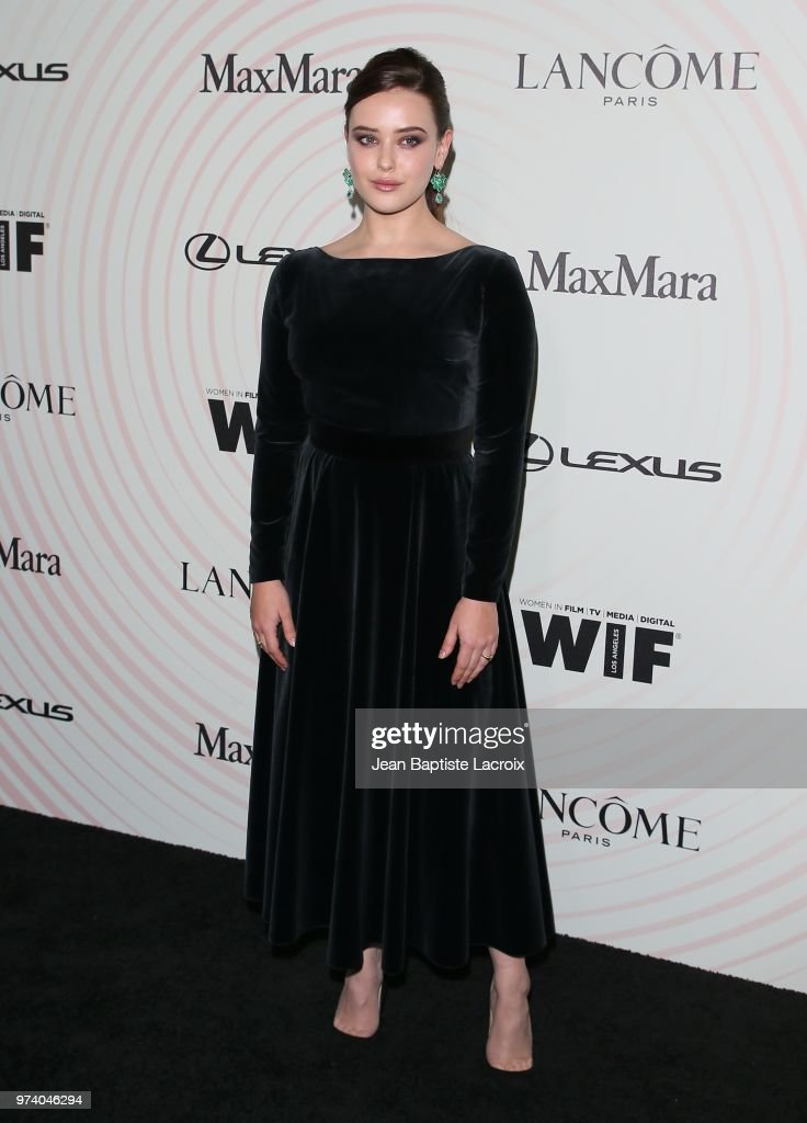 Katherine Langford attends the Women In Film 2018 Crystal + Lucy Awards at The Beverly Hilton Hotel on June 13, 2018 in Beverly Hills, California.