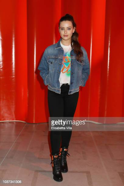 Katherine Langford attends Theaster Gates Spike Lee and Dee Rees in conversation with Okwui Enwezor for the presentation of film program 'Soggettiva...