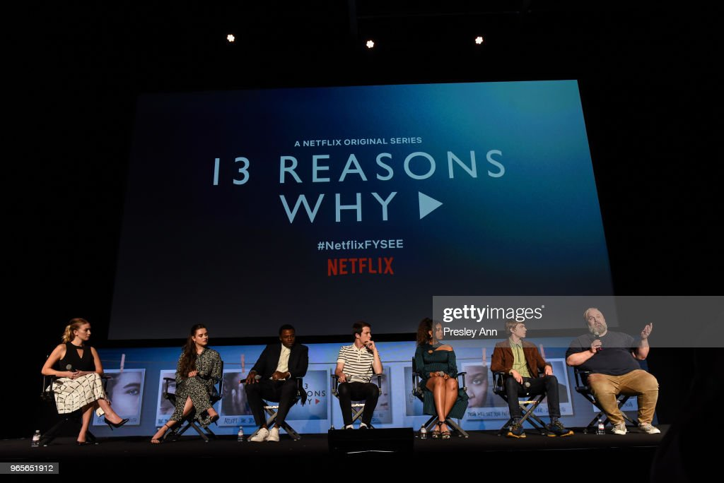 "#NETFLIXFYSEE Event For ""13 Reasons Why"" Season 2 - Inside : News Photo"