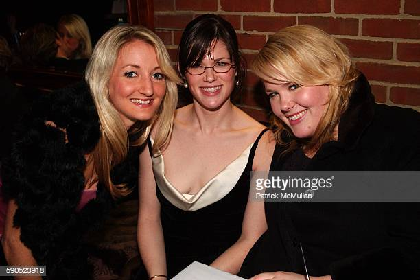 Katherine McLean, Lucy Phillips and Bo Phillips attend Post-Inaugural Ball Party from Maker's Mark, Stoli and Perrier Jouet at Smith Point Bar on...
