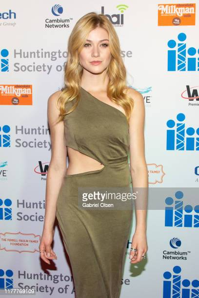 Katherine McNamara arrives for the 5th Annual Freeze HD Gala at Avalon Hollywood on September 28 2019 in Los Angeles California