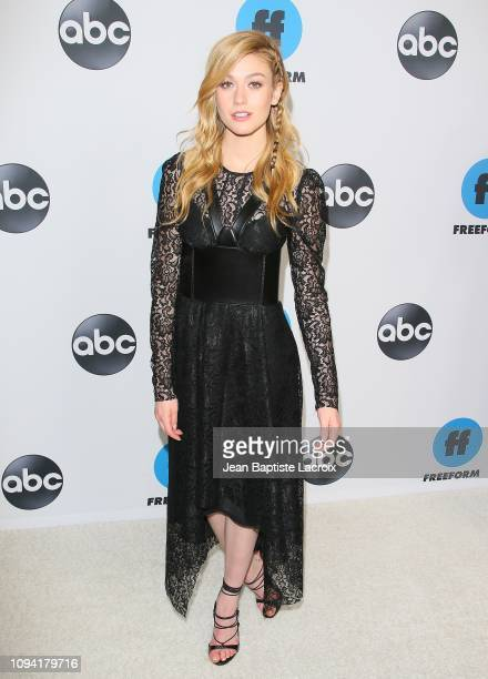 Katherine McNamara attends Disney ABC Television Hosts TCA Winter Press Tour 2019 on February 05 2019 in Pasadena California