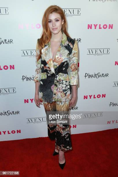 Katherine McNamara attends NYLON Hosts Annual Young Hollywood Party at Avenue on May 22 2018 in Los Angeles California