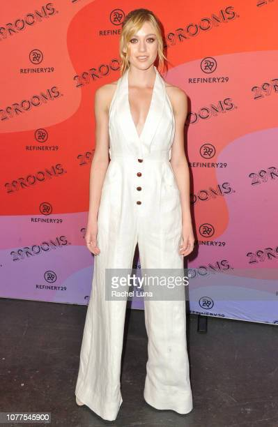 Katherine McNamara attends Refinery29's 29Rooms Los Angeles 2018 Expand Your Reality at The Reef on December 04 2018 in Los Angeles California