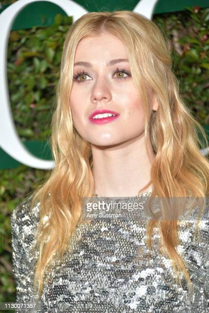 Katherine McNamara attends Teen Vogue's 2019 Young Hollywood Party Presented By Snap at Los Angeles Theatre on February 15 2019 in Los Angeles...