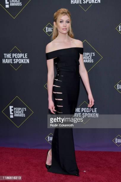 Katherine McNamara attends the 2019 E People's Choice Awards at Barker Hangar on November 10 2019 in Santa Monica California