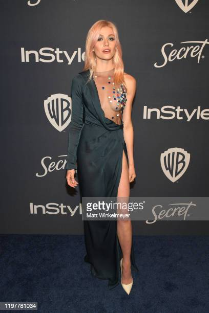 Katherine McNamara attends The 2020 InStyle And Warner Bros 77th Annual Golden Globe Awards PostParty at The Beverly Hilton Hotel on January 05 2020...