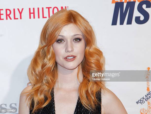 Katherine McNamara attends the 23rd annual Race to Erase MS Gala at The Beverly Hilton Hotel on April 15 2016 in Beverly Hills California