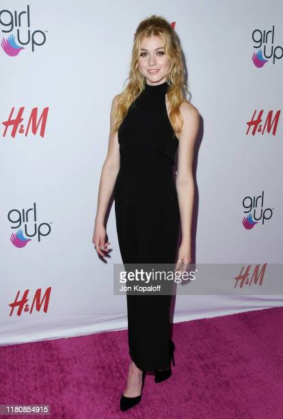 Katherine McNamara attends the 2nd Annual Girl Up #GirlHero Awards at the Beverly Wilshire Four Seasons Hotel on October 13 2019 in Beverly Hills...