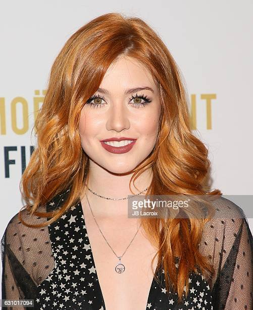 Katherine McNamara attends the 2nd Annual Moet Moment Film Festival and Kick Off of Golden Globes Week on January 4 2017 in West Hollywood California