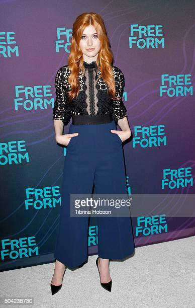 Katherine McNamara attends the Disney/ABC 2016 Winter TCA Tour at Langham Hotel on January 9 2016 in Pasadena California