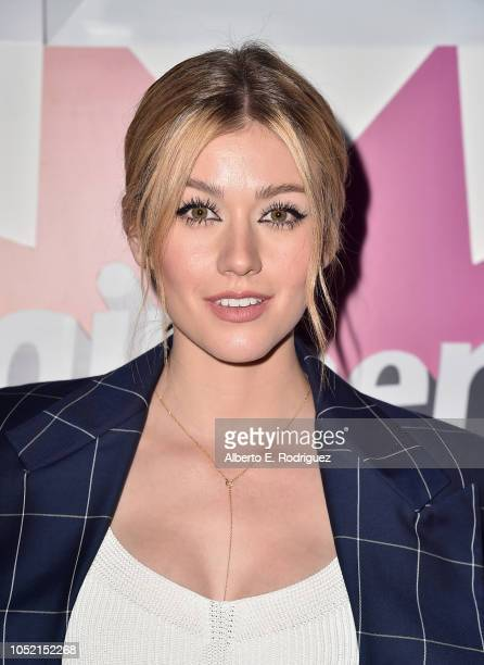 Katherine McNamara attends the #girlhero Award Luncheon at SLS Hotel on October 14 2018 in Beverly Hills California