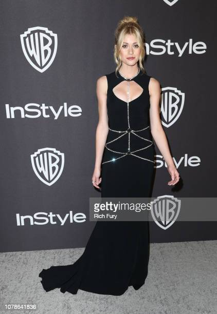Katherine McNamara attends the InStyle And Warner Bros Golden Globes After Party 2019 at The Beverly Hilton Hotel on January 6 2019 in Beverly Hills...