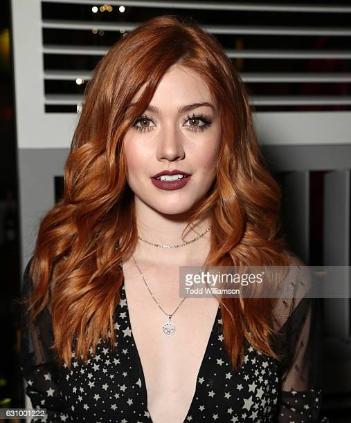 Katherine McNamara attends the Moet And Chandon 2nd Annual Moet Moment Film Festival And Kick Off Of Golden Globes Week at Doheny Room on January 4...