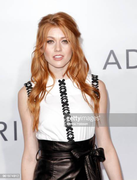Katherine McNamara attends the premiere of 'Adrift' at Regal LA Live Stadium 14 on May 23 2018 in Los Angeles California