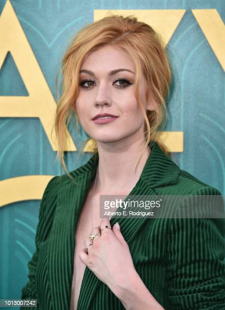 Katherine McNamara attends the premiere of Warner Bros Pictures' Crazy Rich Asiaans at TCL Chinese Theatre IMAX on August 7 2018 in Hollywood...