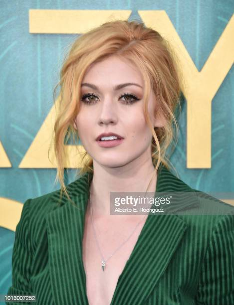 """Katherine McNamara attends the premiere of Warner Bros. Pictures' """"Crazy Rich Asiaans"""" at TCL Chinese Theatre IMAX on August 7, 2018 in Hollywood,..."""