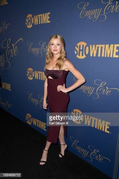 Katherine McNamara attends the Showtime Emmy Eve Nominees Celebration at Chateau Marmont on September 16 2018 in Los Angeles California
