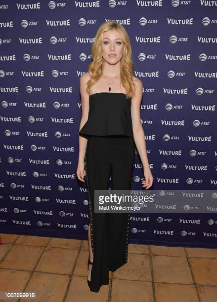 Katherine McNamara attends the Vulture Festival opening night party presented by ATT on November 16 2018 in Los Angeles California