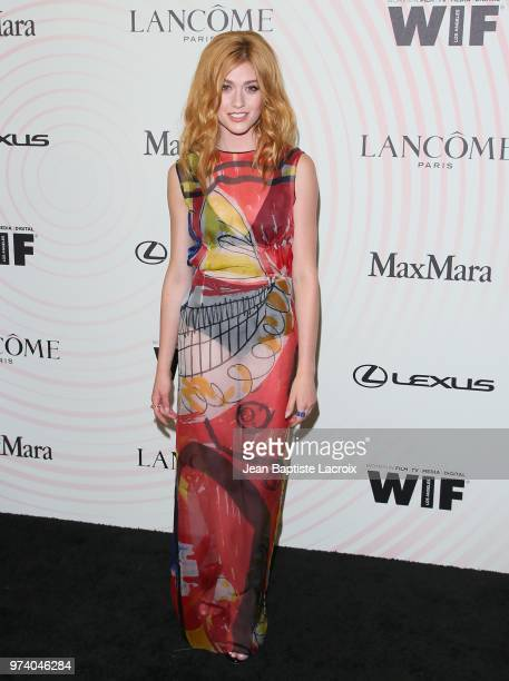 Katherine McNamara attends the Women In Film 2018 Crystal Lucy Awards at The Beverly Hilton Hotel on June 13 2018 in Beverly Hills California