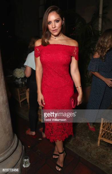 Katherine McPhee at the Amazon Prime Video premiere of the original drama series 'The Last Tycoon' at Harmony Gold Theatre on July 27 2017 in Los...