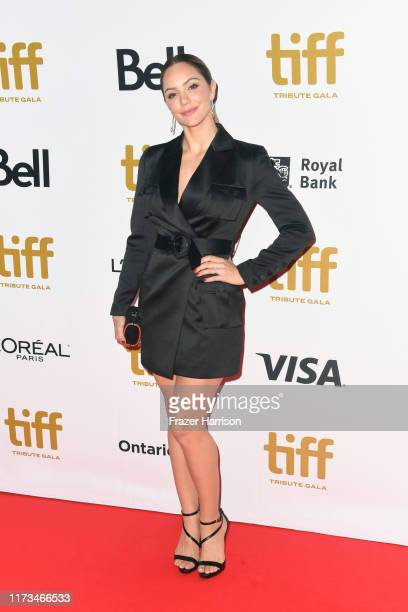 Katherine McPhee attends the 2019 Toronto International Film Festival TIFF Tribute Gala at The Fairmont Royal York Hotel on September 09 2019 in...