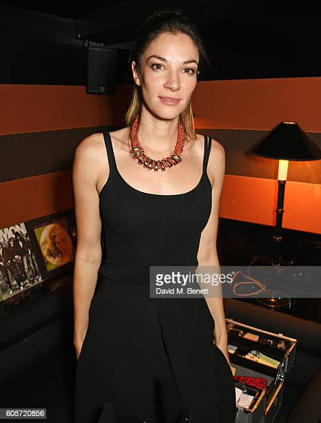 Katherine Mills attends as Blakes hotel celebrates the launch of Blakes Below a luxury bar and lounge designed by Anouska Hempel on September 14 2016...